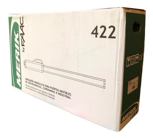 kit 2 pistones hidráulico faac 422 puertas automaticas