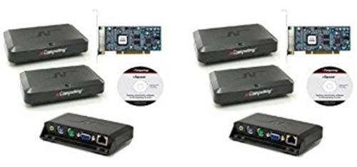 kit 2 placas x300 ncomputing + 6 terminal