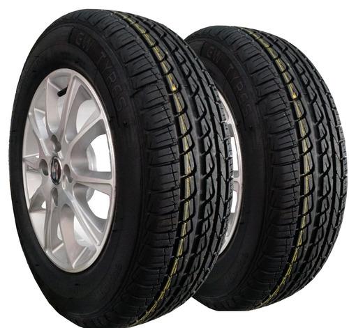 kit 2 pneu 185/70 r14 remold gw tyre pirelli 5 anos garantia