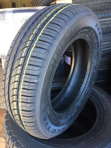 kit 2 pneus 175-70r14 remold novo modelo pirelli p1 promoção