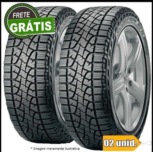 kit 2 pneus 175/70-14 remold novo pirelli scorpion oferta