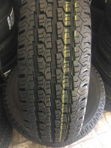 kit 2 pneus 185r14 c 8 lonas remold novo kombi, frete gra