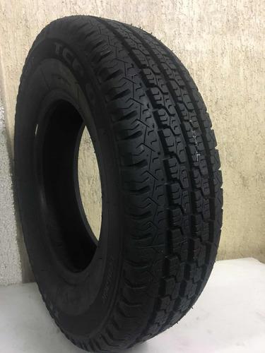 kit 2 pneus 185r14 carga 8 lonas remod novo, kombi
