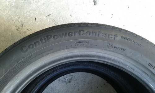 kit 2 pneus 195/55r16 87h continental contpowercontact. 013