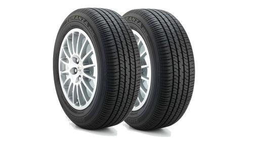 kit 2 pneus bridgestone turanza er30 195/55 r15 85h novo