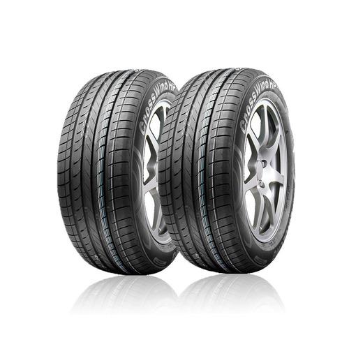 kit 2 pneus ecosport 205/65r15 ling long (frete gratis)