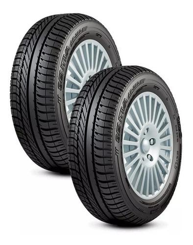 kit 2 pneus fate 175/70  r13 sentiva ar 360 82 t