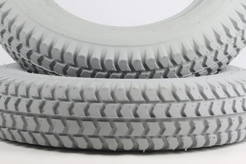kit 2 pneus traseiros cadeira motorizada ottobock b400 novo