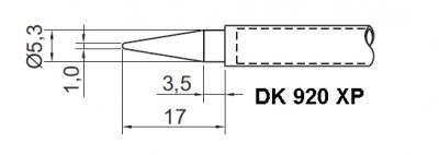 kit 2 pontas ts-920xp ferro de solda toyo da estação ts-920