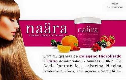 kit 2 potes de naära - colágeno hidrolisado - frete grátis!