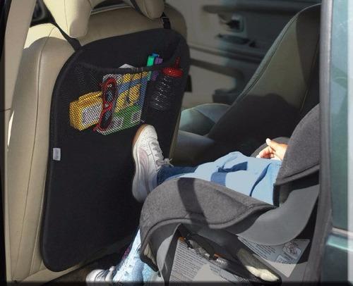 kit 2 protectores de asientos para auto contra pies de niños