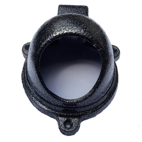 kit 2 protetores de câmera dome fundido anti vandalismo nº3
