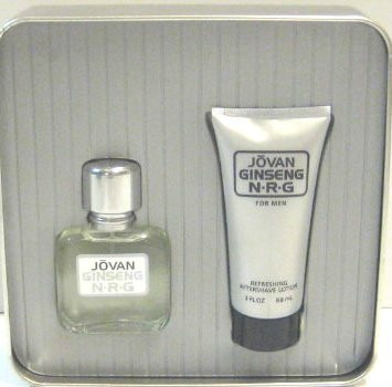 kit 2 pzas jovan ginseng n- r- g for men