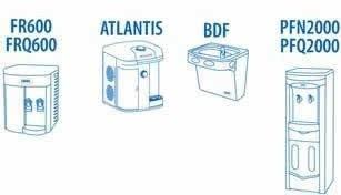 kit 2 refil c+3 purificador de água ibbl. fr600 - atlantis