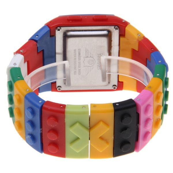 445dd3b894e Kit 2 Relógio Digital Adulto Infantil Lego Frete Gratis - R  129