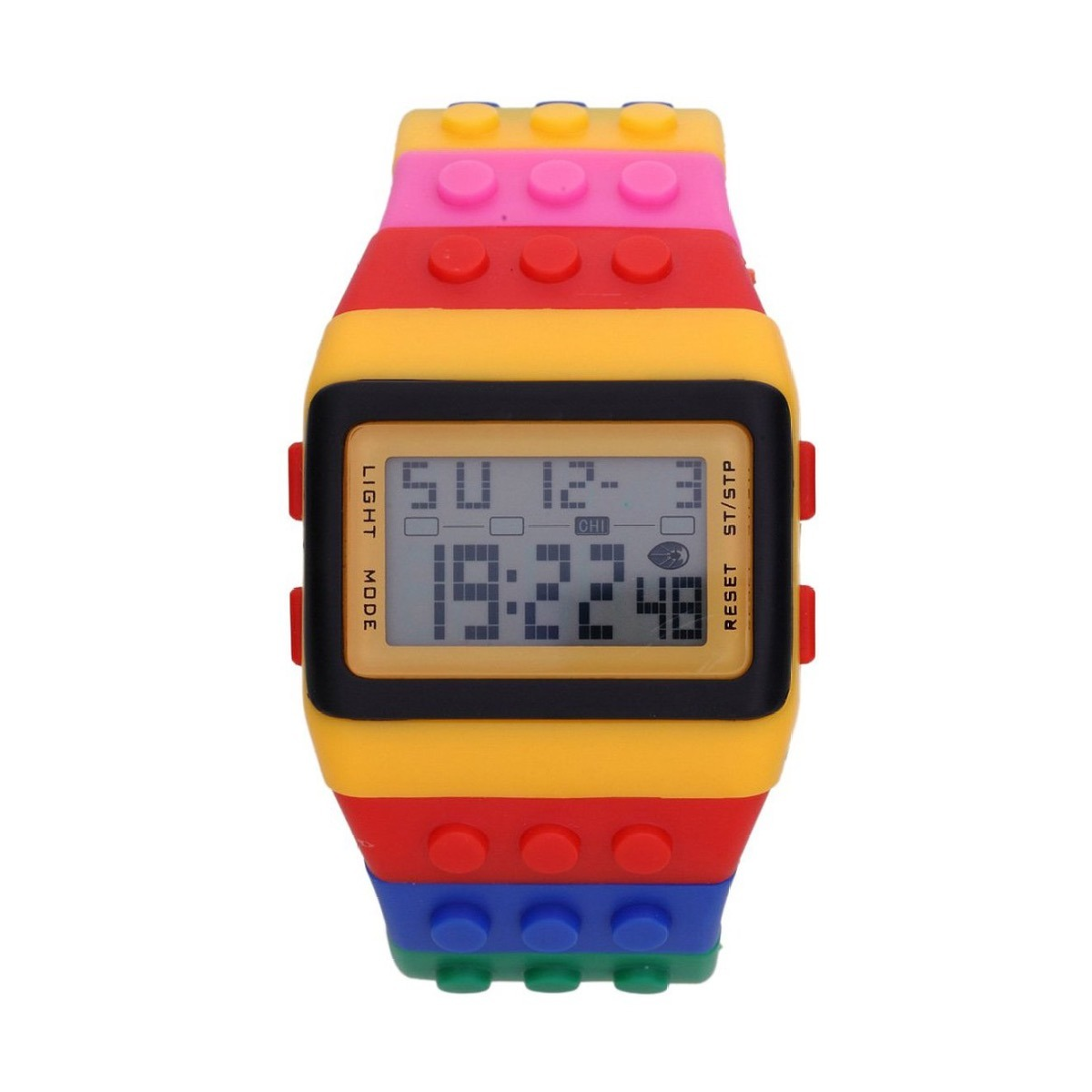 5b9efe0b837 kit 2 relógio digital adulto infantil lego frete gratis. Carregando zoom.