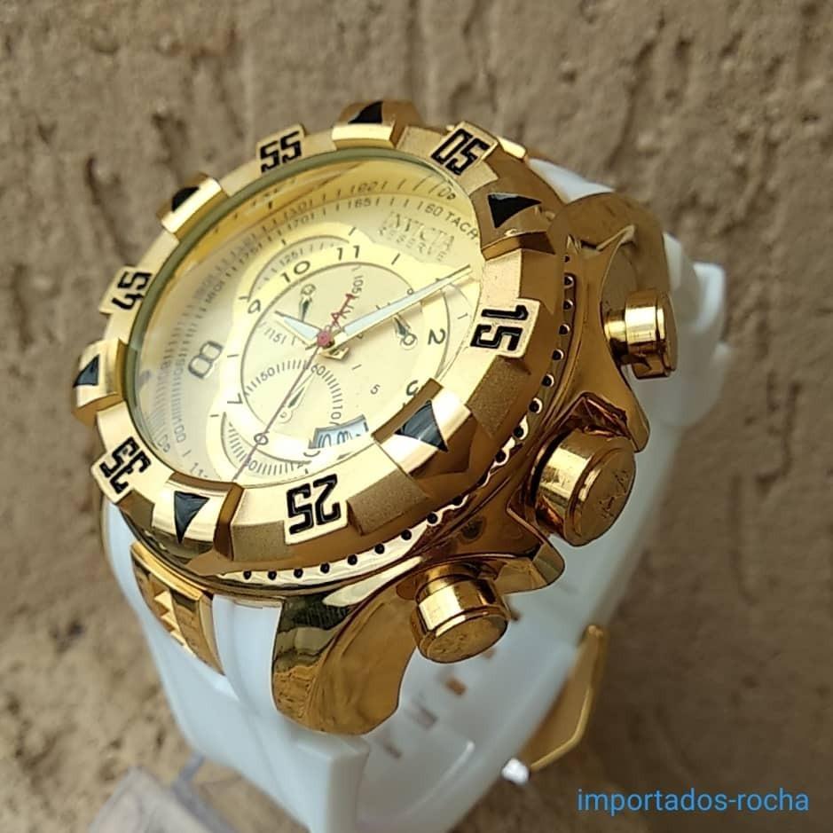 1cab336816f Kit 2 Relógio Masculino Dourado Prata Barato Aço Pesado - R  230