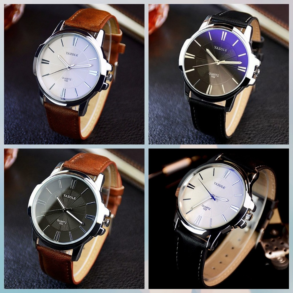 16a2a94ffa4 kit 2 relógio masculino yazole moda luxo social frete gratis. Carregando  zoom.