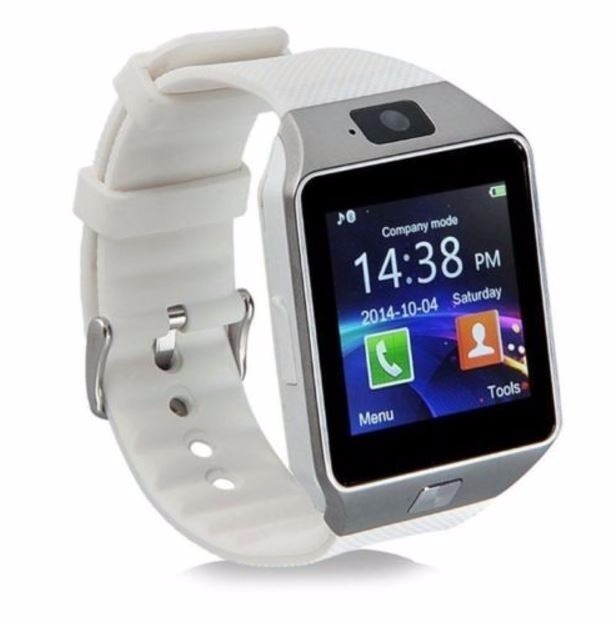 fef728810ca Kit 2 Relógios Bluetooth Smartwatch Dz09 Iphone Android Chip - R ...