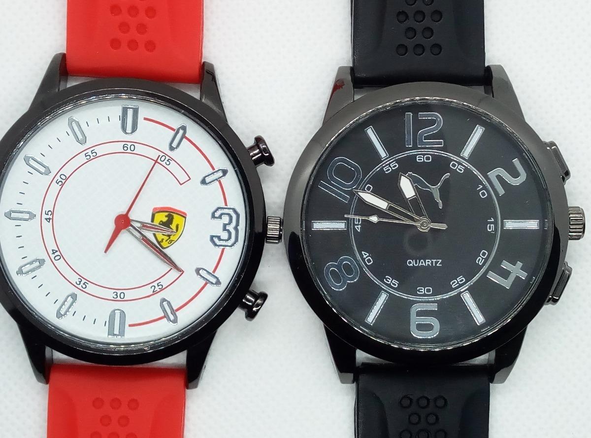 36159566967 kit 2 relógios bonitos brinde 12 perf contratipo promoção. Carregando zoom.