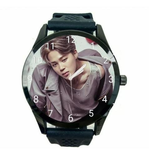 kit 2 relógios bts jungkook jimin promoção unissex novo t747