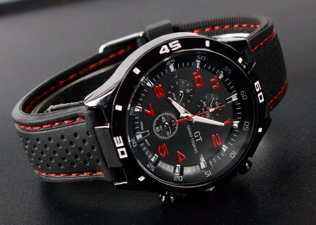 bae6ef5ab58 Kit 2 Relógios De Pulso Masculino Esportivo Gt Gran Touring - R  139 ...