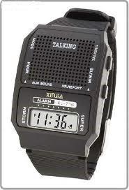 kit 2 relógios fala hora para deficiente visual e idoso to