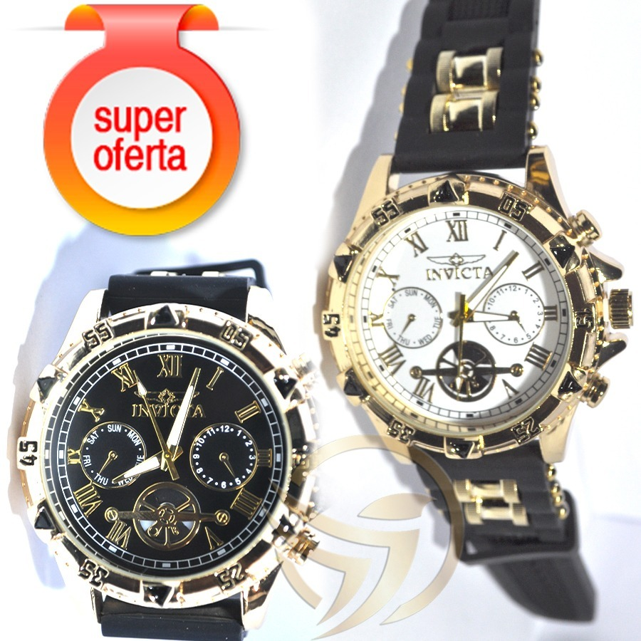 c3e557e5bc6 kit 2 relógios importados promoção + frete gratis. Carregando zoom.