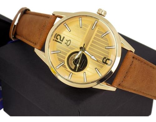 kit 2 relógios masculino  + caixa original barato atacado