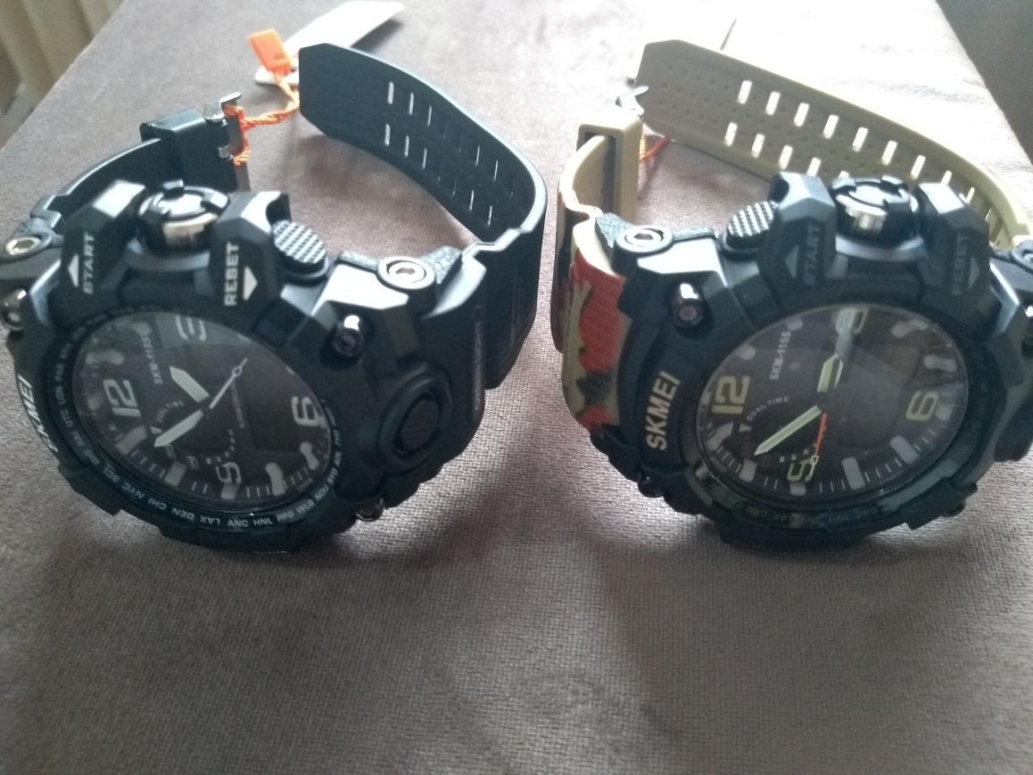 a79316a7b55 kit 2 relógios militar digital analógico ...