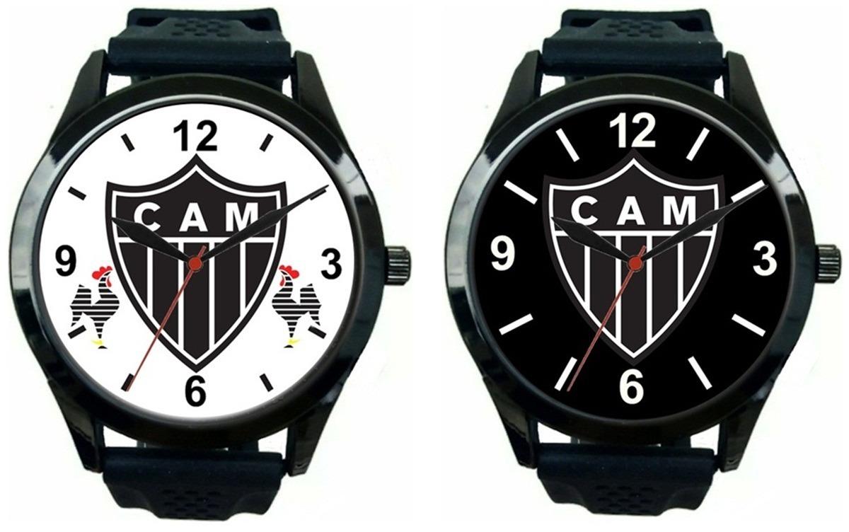 3408f660fc2fd kit 2 relógios pulso atlético mineiro barato promoção. Carregando zoom.
