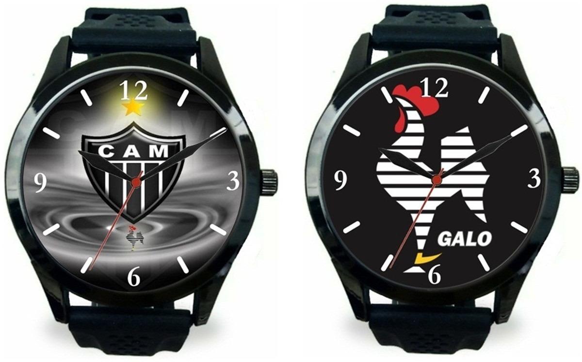 51de08b9b4fb8 kit 2 relógios pulso esportivo atlético mineiro barato novo. Carregando zoom .