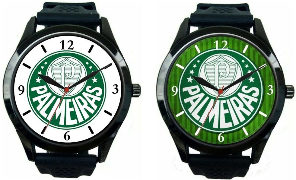 kit 2 relógios pulso esportivo palmeiras barato masculino. Carregando zoom. c0e91a86ee