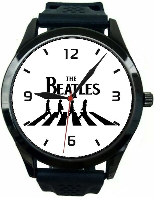 752b633f814 Kit 2 Relógios Pulso Esportivo The Beatles Barato Promoção - R  120 ...