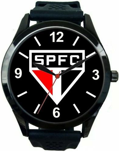 kit 2 relógios pulso esportivos são paulo barato promoção