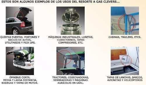 kit 2 resortes neumaticos porton ford fiesta 1995/2001