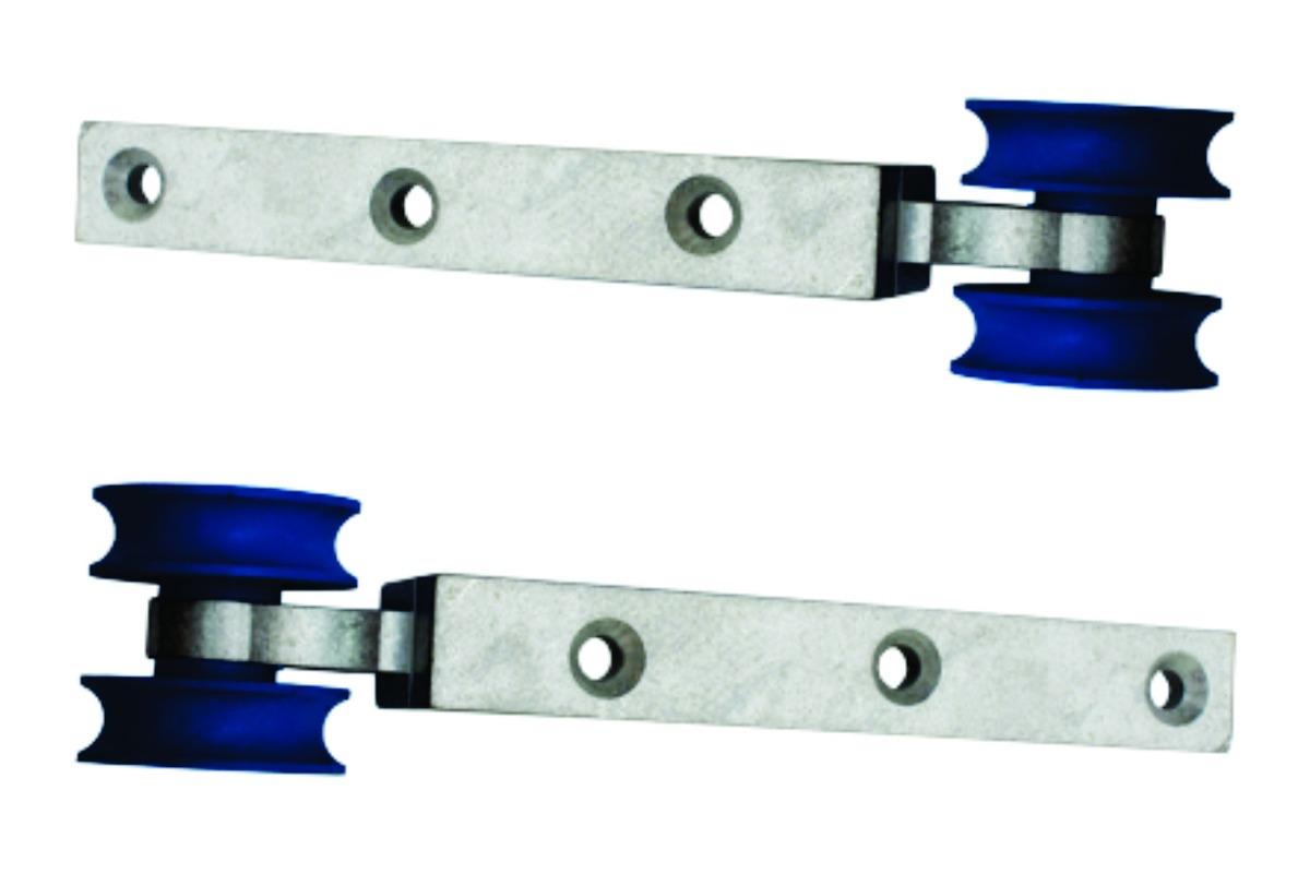 #02177B Kit 2 Roldanas Concava Com Rolamento Porta/janela Madeira R$ 16 60  1442 Roldanas Para Janela De Aluminio