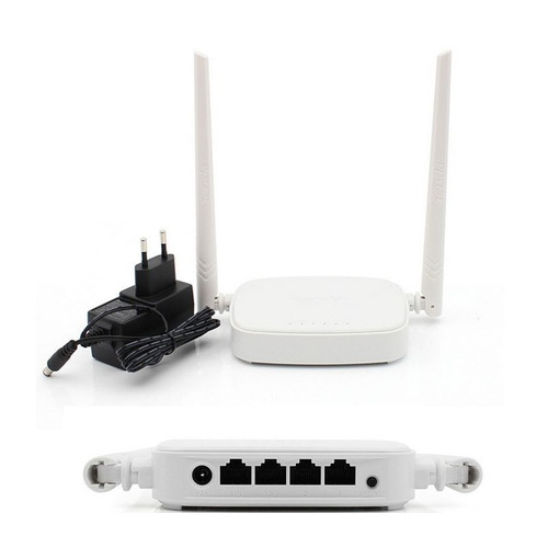 kit 2 router inalámbrico compact + repetidor n300 mbps