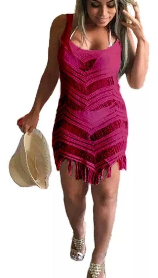 728494a57 Kit 2 Saídas De Praia Vestidos 9 Modelos Como Opção Verão - R$ 57,00 ...