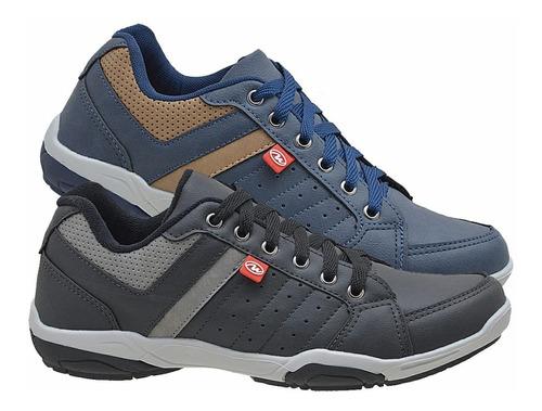 kit 2 sapatênis masculino casual sapato tênis original 940