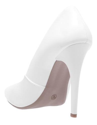 kit 2 sapato feminino scarpin salto alto - coleção 2019