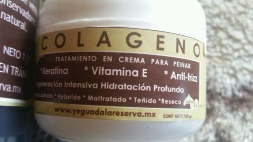 kit 2 shampoo 2 yegaulash 1 colageno jumbo yeguada la reserv