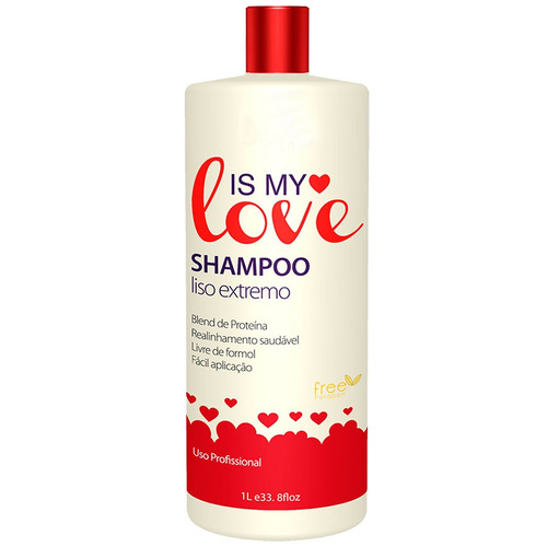 kit 2 shampoo alisante liso extremo is my love 1000ml