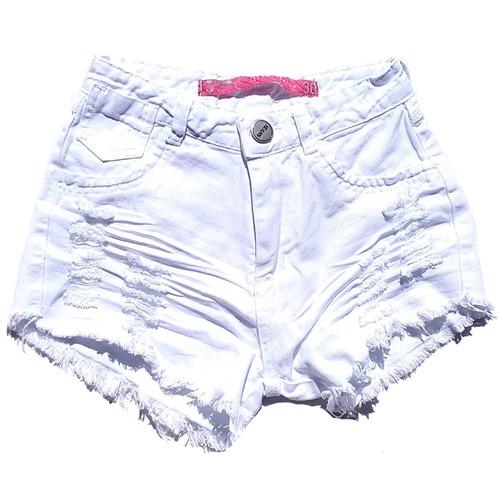 kit 2 shorts jeans feminino destroyed hot pant rasgado anita