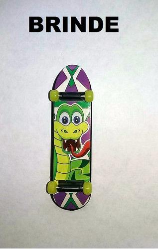 kit 2 skate dedo fingerboard shape truck brinde preço baixo