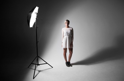 kit 2 sombrillas estudio de fotografía negra plata 83cm