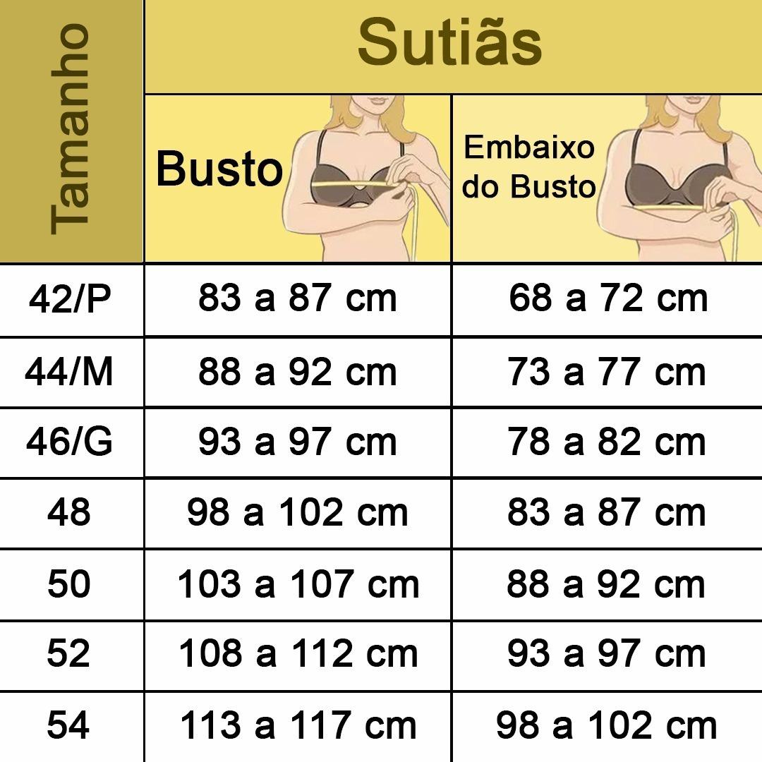 45e9f64c9 Kit 2 Sutia Plus Size Reforçado Tomara Que Caia 42 Ao 54 - R  139