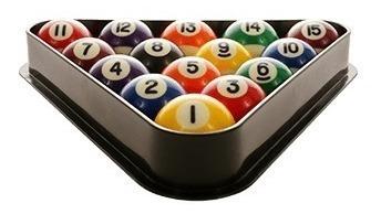 kit 2 tacos 19oz juego de bolas a5 triangulo y tiza yeerom