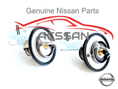 kit 2 termostatos sentra 2003 motor 2.5l nissan original