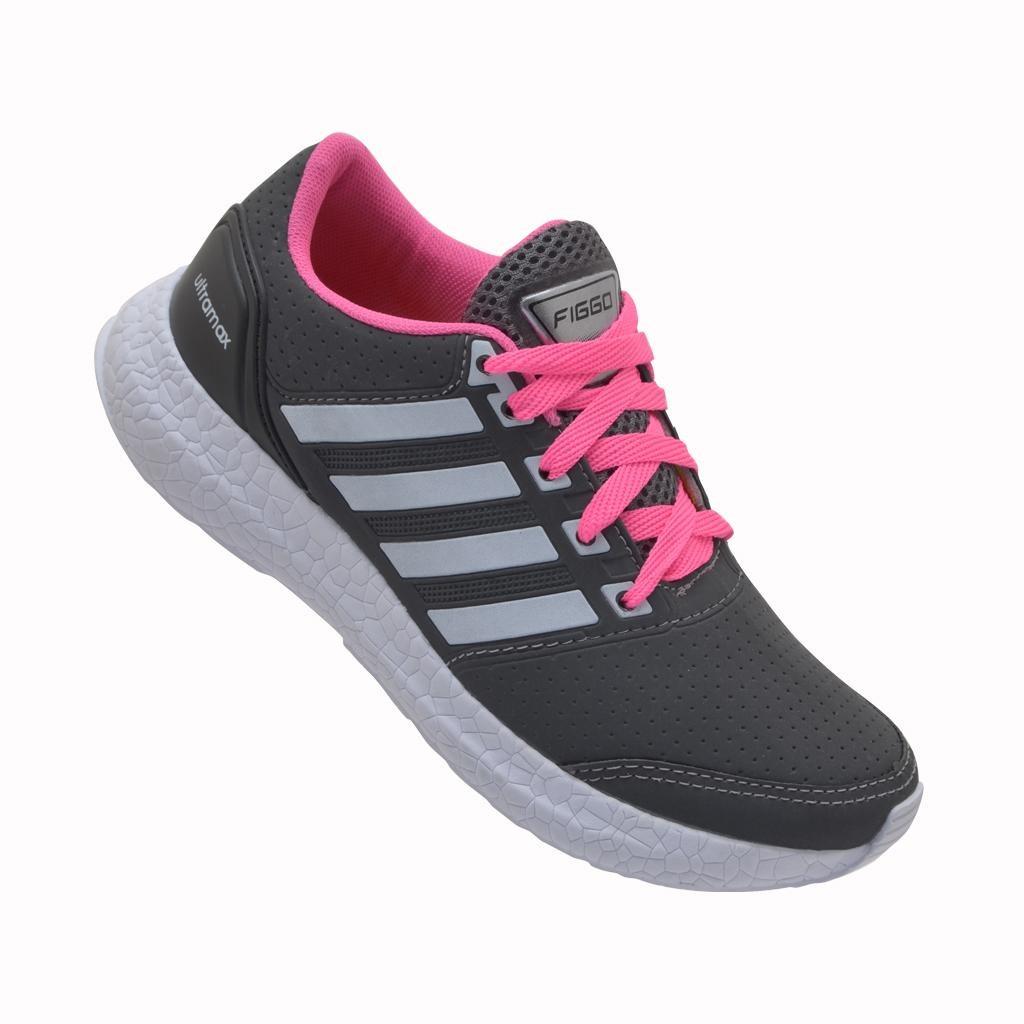 684f6c7406ca7 kit 2 tênis esportivo feminino figgo ultramax caminhada. Carregando zoom.